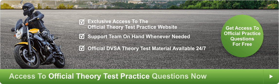 Access to official theory test practise questions now